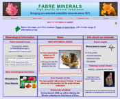 Fabre Minerals Home Page